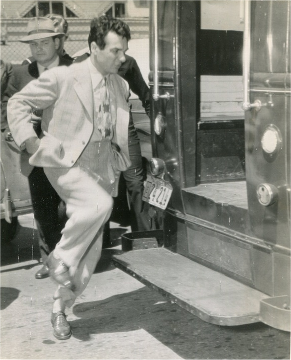 Gene being arrested